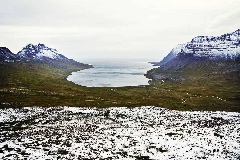 fiordos oeste como recorrer islandia carreteras conducir paisaje nieve que ver