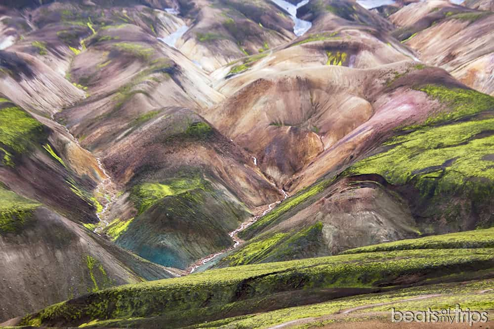 Montañas de colores en Landmannalaugar