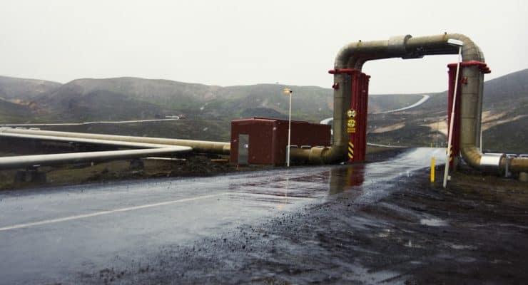 Planta geotérmica Islandia