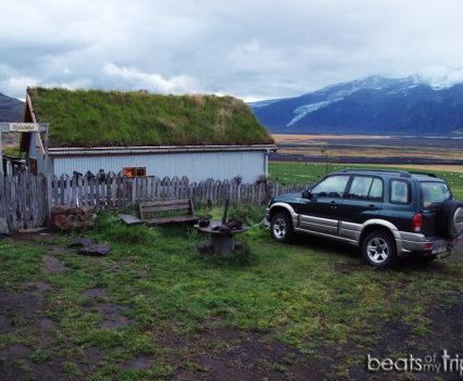 Hostel refugio Fljotsdalur alojamiento sur Islandia dónde dormir