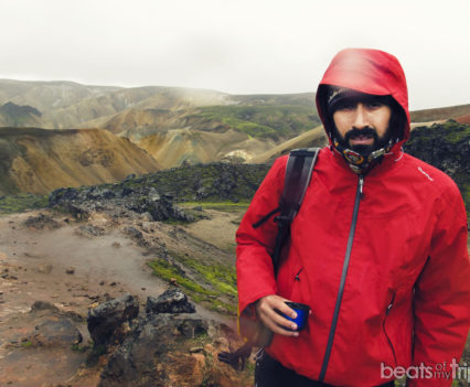 Brennisteinsalda Trekking Landmannalaugar Montañas colores Mapa Islandia