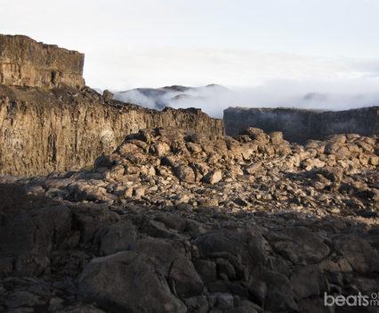 Vistas del cañón Jökulsárgljúfur