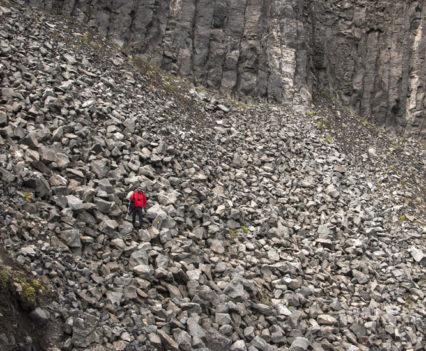 Pedregal antes de Hafragilsfoss