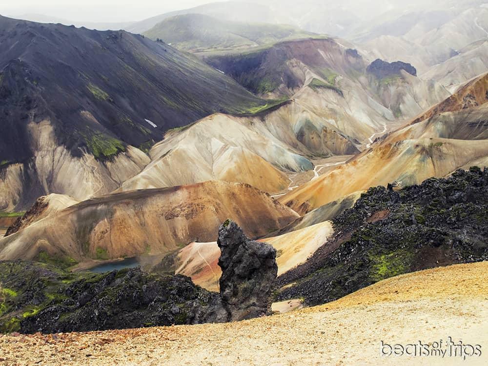 que ver islandia blog montañas colores Landmannalaugar trekking