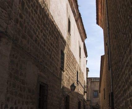 Calle Palacio Episcopal Plasencia Extremadura