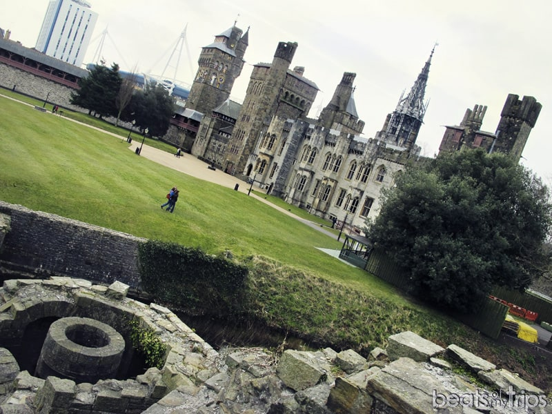 Interior Castillo Cardiff Estadio del Milenio turismo Gales rugby vivir extranjero blog viajes