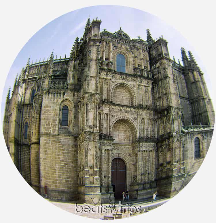 Catedral Nueva Plateresco Plasencia Extremadura