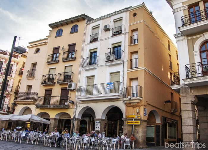 Plaza Mayor Plasencia Judería Extremadura