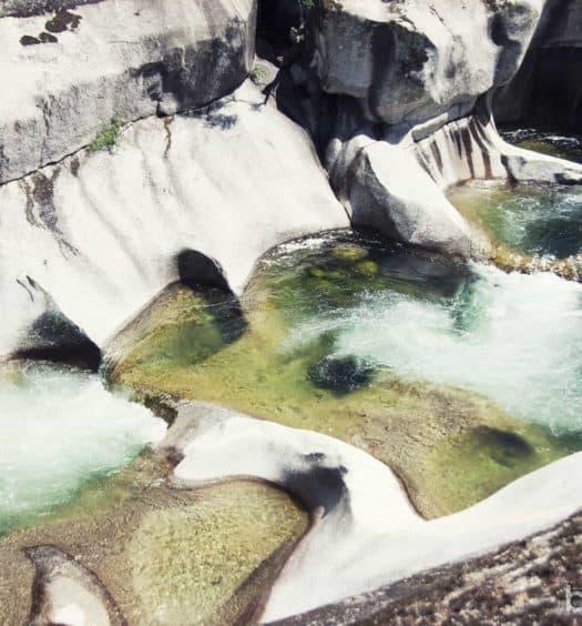 Piscinas naturales los Pilones Reserva Natural Garganta Infiernos Valle Jerte Extremadura Viajes