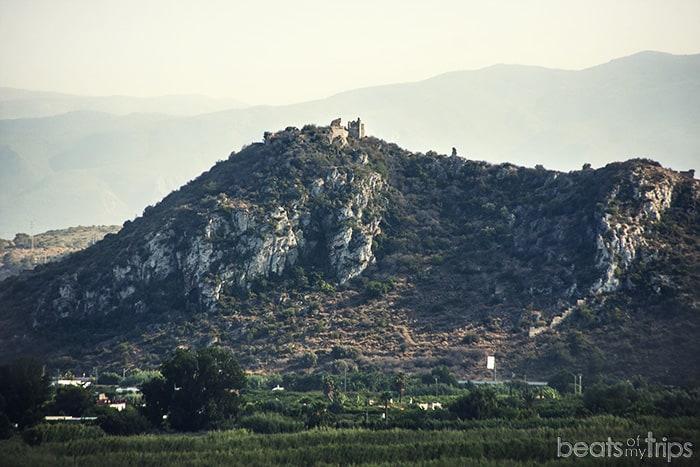 Gandía viajes Castillo de Bairén Bairen Sierra de la Safor Marjal rutas en Gandía