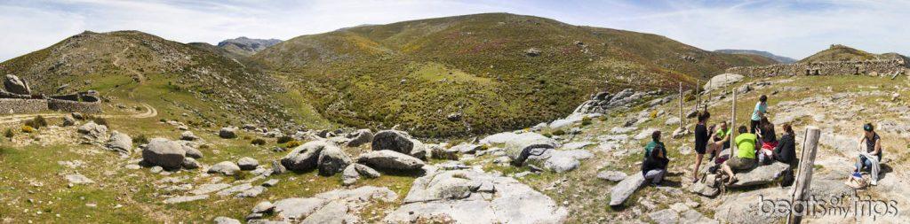 Picnic valle glaciar La Serrá Sierra Tormantos Valle del Jerte Extremadura blog viajes