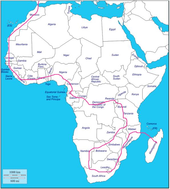 Cinecicleta ruta África bici bicicleta viaje sostenible