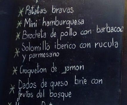 Destapat restaurante Sanchis comer en Gandíatapas en Gandia comer chiringuitos vacaciones en Gandía tapeo Gandia