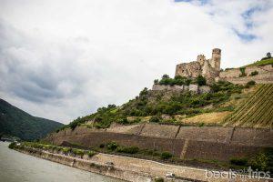 Castillo de Ehrenfels Burg Crucero Rin Romántico Turismo Alemania
