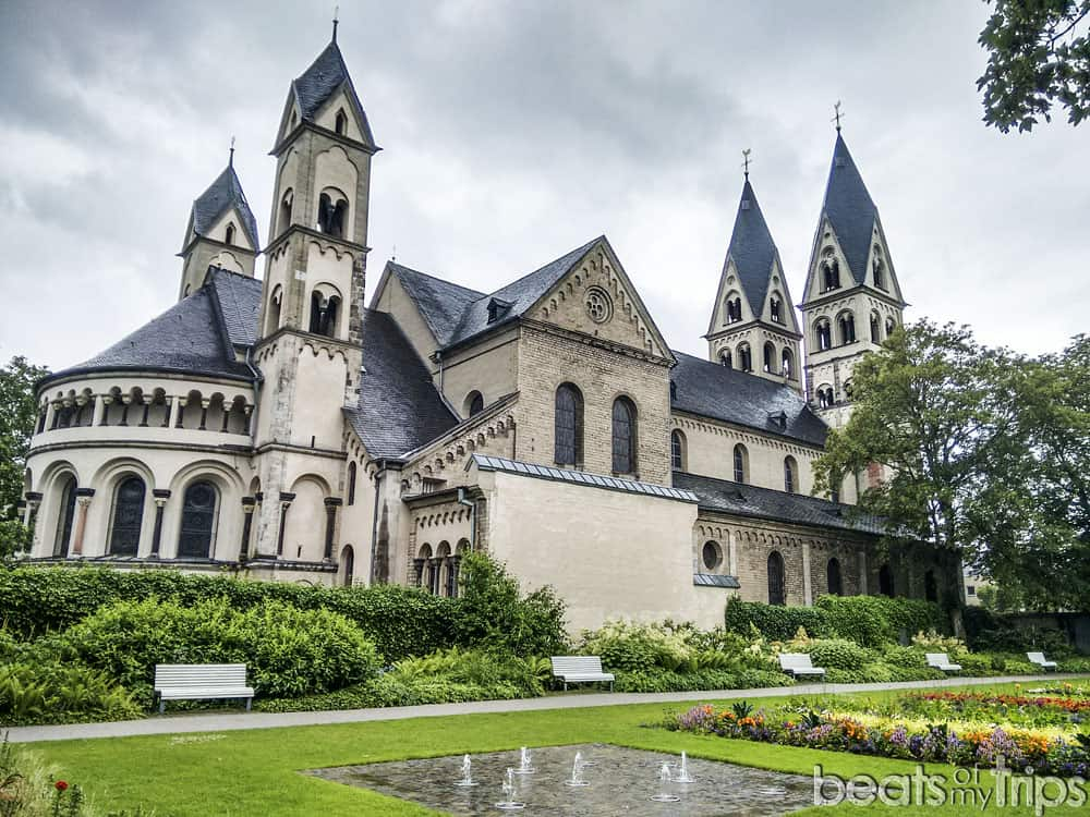Basilica San Castor Coblenza Koblenz Crucero Rin Romántico Mosela Turismo Alemania