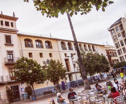 Gandía Biblioteca Central Convento Sant Roc turismo tapas