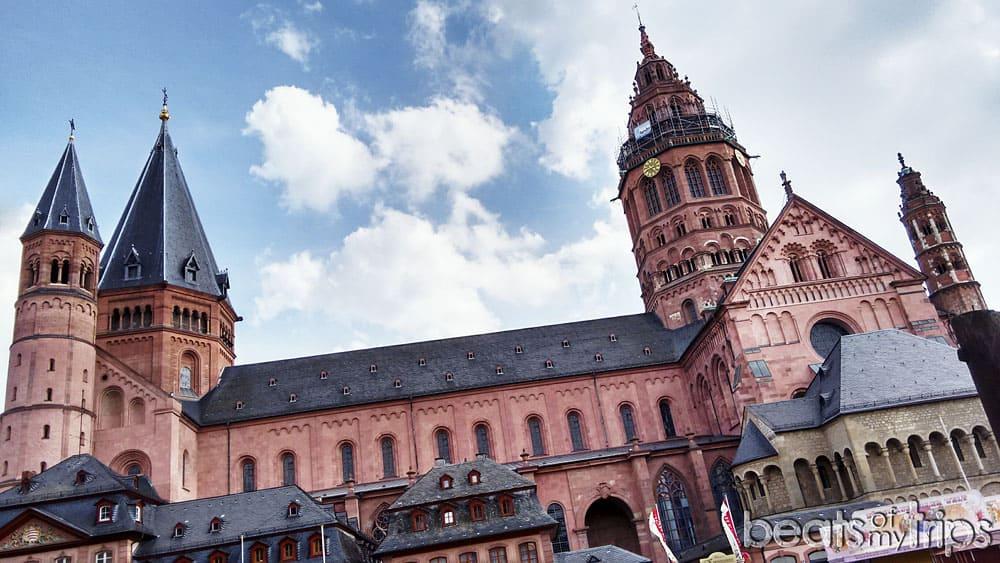 Maguncia Catedral Mainz Turismo Alemania Rin