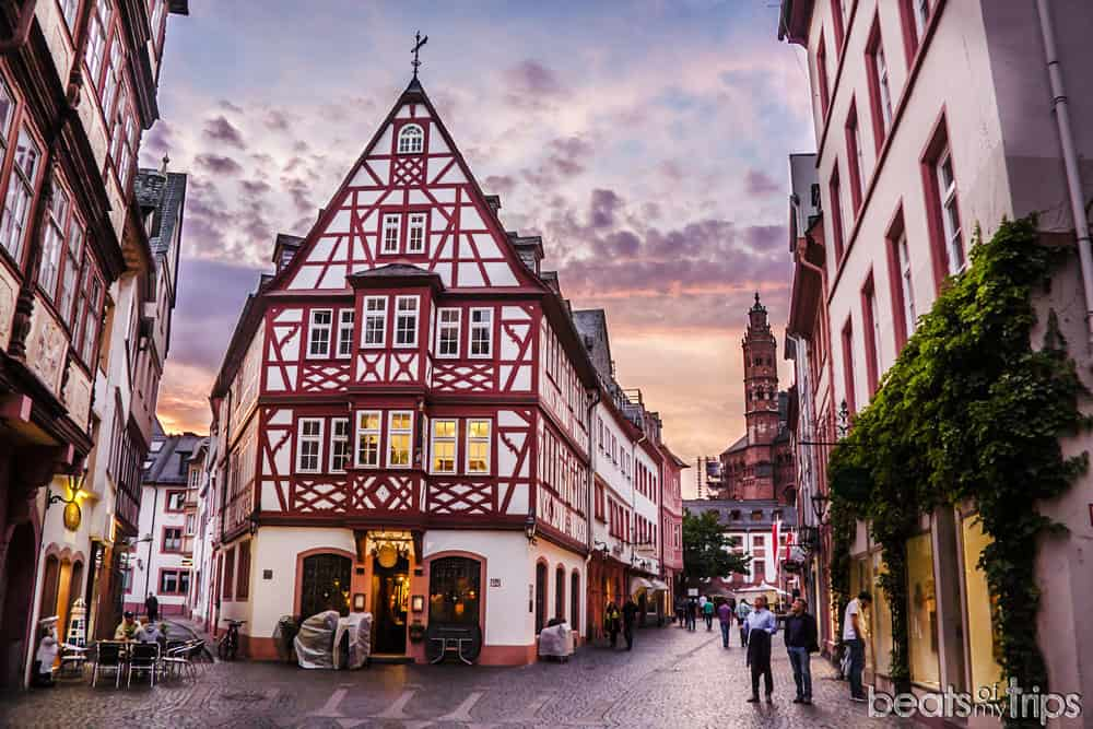 Maguncia Casco Histórico Mainz Turismo Alemania Crucero Rin Romántico