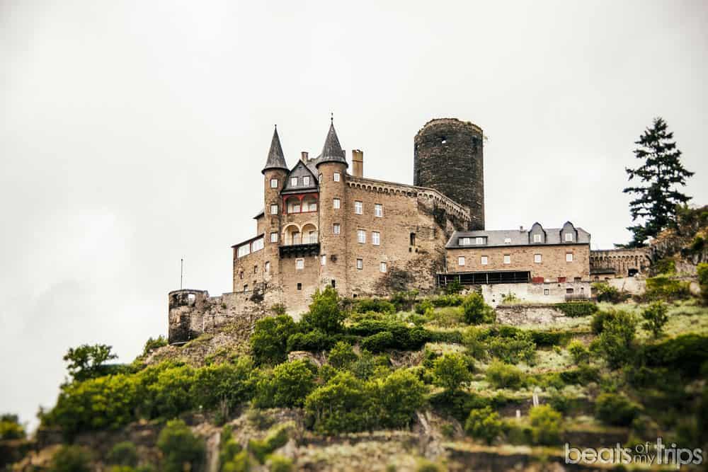 Sankt Goarshausen Castillo Katz Burg Crucero Rin Romántico Turismo Alemania
