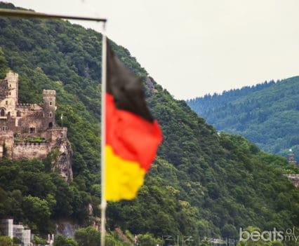 Castillo de Rheinstein Burg Crucero Rin Romántico Turismo Alemania