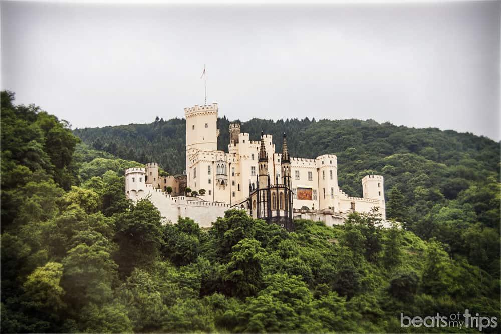 Castillo Stolzenfels Burg Crucero Rin Romántico Turismo Alemania