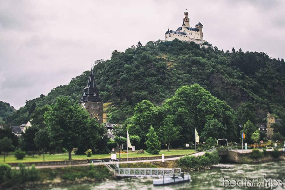 Marksburg Crucero Rin Romántico Turismo Alemania