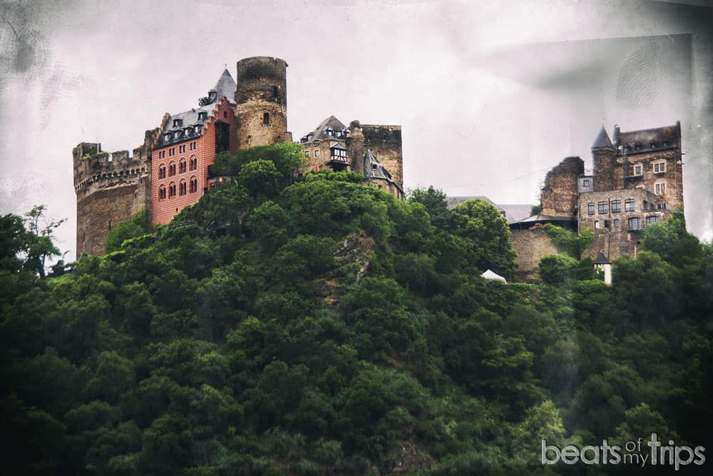 Castillo de Schönburg Oberwesel Crucero Rin Romántico Turismo Alemania
