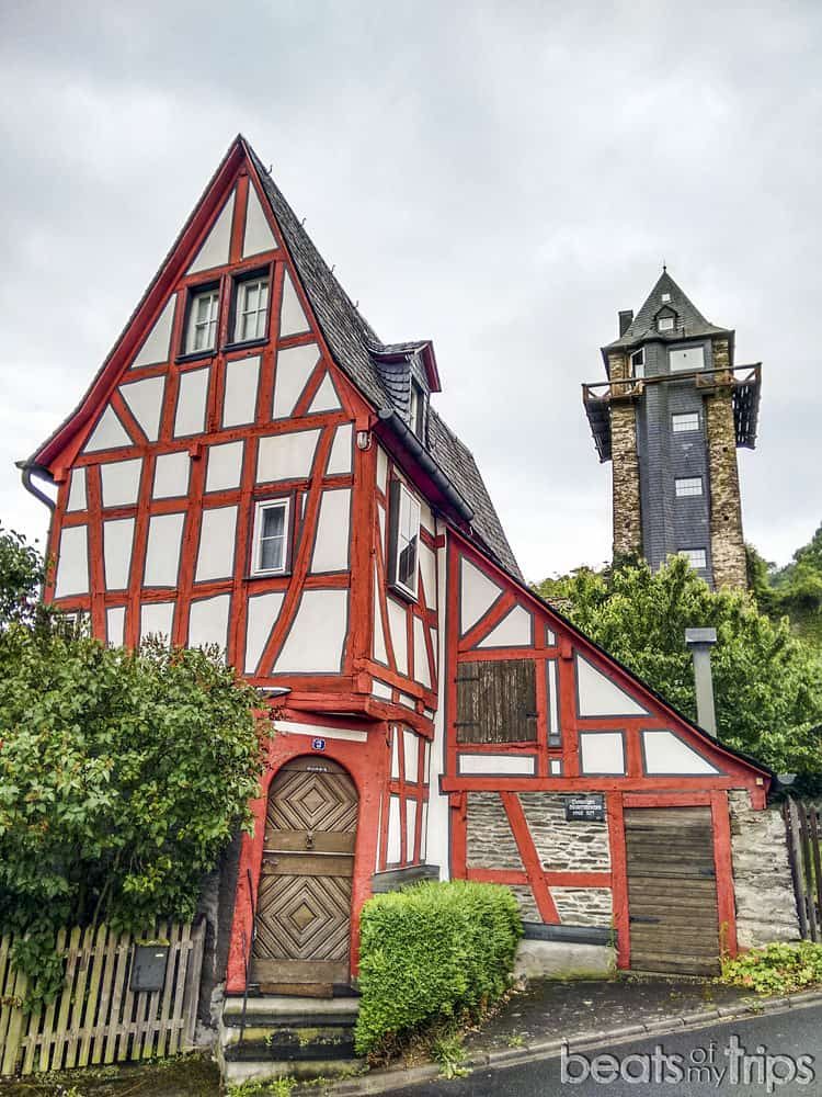 Oberwesel Torre Muralla Michelfeldturm Crucero Rin Romántico Turismo Alemania