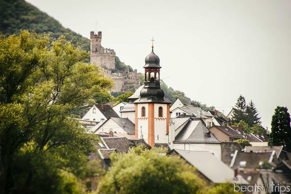 Trechtingshausen castillo de Sooneck Burg Crucero Rin Romántico Turismo Alemania