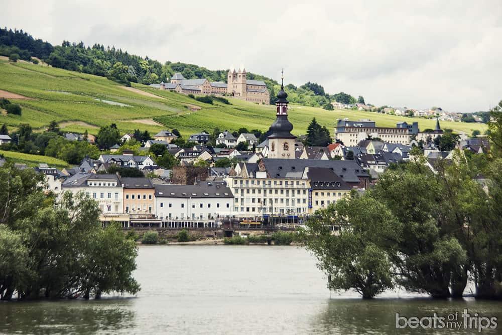 Rudesheim am Rhein Crucero Rin Romántico Turismo Alemania