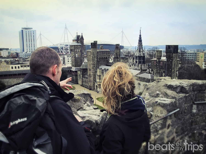 Cardiff castle castillo Millennium Stadium Estadio Milenio visitar gales viajar Wales blog viajes