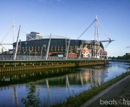 Millennium Stadium Cardiff sede Mundial de Rugby turismo Seis Naciones río Taff Visitar Gales Cymru blog viajes