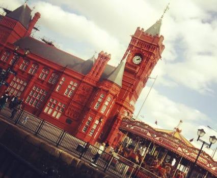 Pierhead Building Bahía de Cardiff turismo Cardiff Bay Doctor Who Gales blog viajes