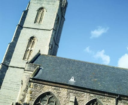 St. David's Cathedral Cardiff City Center Turismo Gales blog viajes