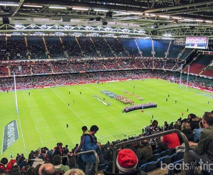 Cardiff que ver Millennium Stadium Estadio Milenio rugby Wales viajar