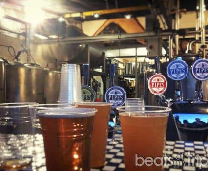 Pipes beer fiestas cardiff noche salir donde ir cardiff