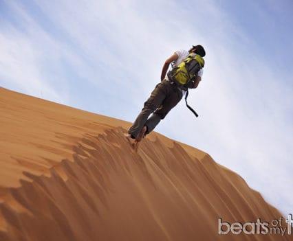 El hombre del desierto