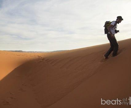 Jugando con las dunas