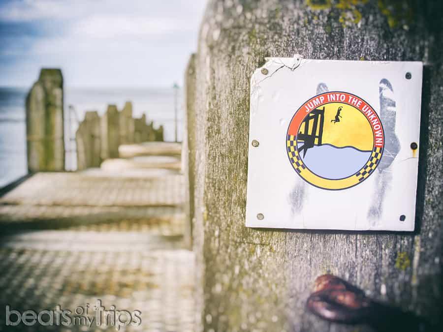 Surf Aberystwyth playa viajar Gales wwoofing