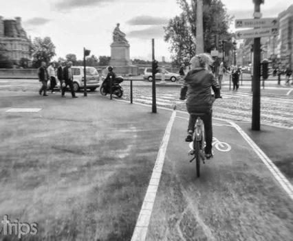 Bicicleta Velib Paris Carril bici Río Sena escapada turismo