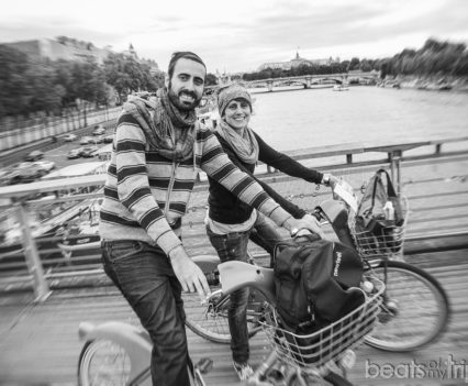 Pasarela Soferino Rio Sena Bici Paris Bicicleta Velib turismo escapada
