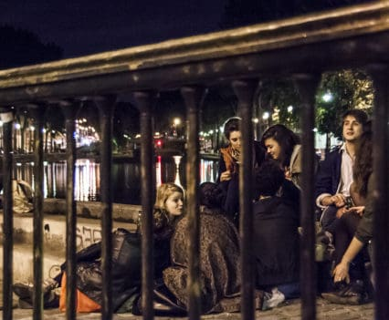 Canal San Martin bares Fin de semana Paris escapada