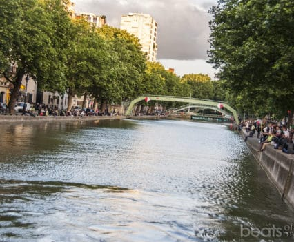 Canal San Martin Fin de semana Paris alternativo escapada bares