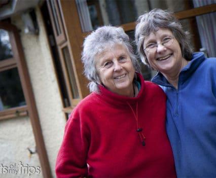 Joy y Lesley