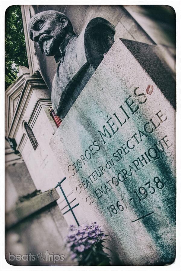 Tumba Melies Cementerio Pere-Lachaise Paris escapada