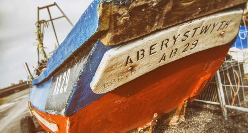 Puerto Aberystwyth viajar Gales Wales turismo