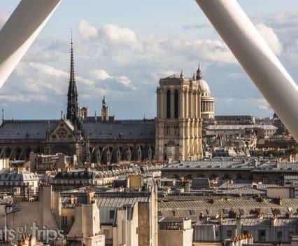 Catedral Notre Dame Museo Pompidou Viajar Paris fin de semana imperdibles