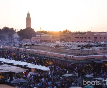 plaza famosa Marrakech Jaama el Fna Jamaa el-Fna que hacer Marrakech Marruecos