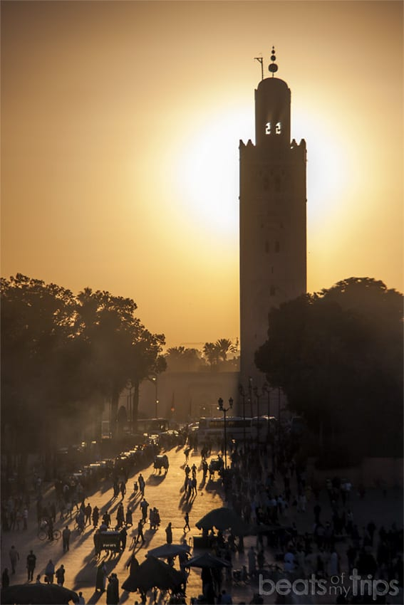 Koutoubia Kutubia mezquita kutubía Marrakech en un dia que ver