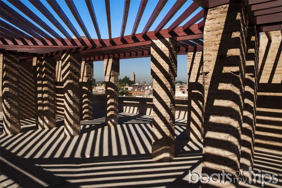Palacio el Badi Marrakech vistas que ver un dia escapada Marrakech